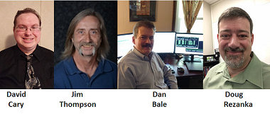 SEMIUG Strikes Team: David Cary, Jim Thompson, Doug Rezanka, Dan Bale